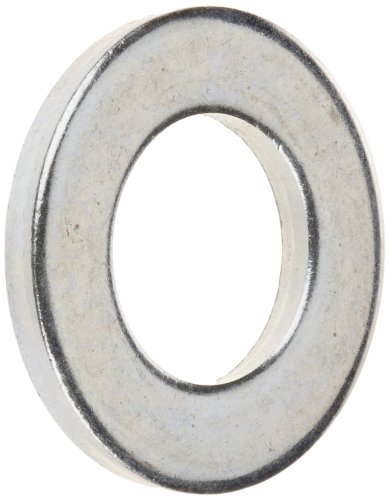 - Steel Flat Washer, Zinc Plated Finish, DIN 125, Metric, M12 Screw Size, 13 mm ID, 24 mm OD, 2.5 mm Thick (Pack of 50)