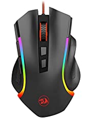 Redragon M607 USB Wired MMO Gaming Mouse 8 buttons 7200 DPI LED RGB Backlit Ergonomic Design Programmable Mice for Gamer lol