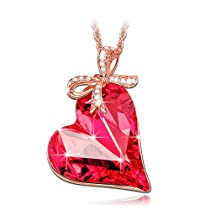 Lady colour - Cadeau d'amour - Collier Femme - cristaux de Swarovski - la collection CRISTAL COEUR