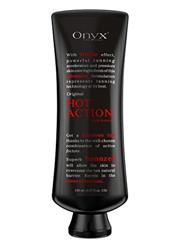 Indoor Tanning Lotion Hot Action Extreme Tingle Bronzer Dark Tan Hemp Oil