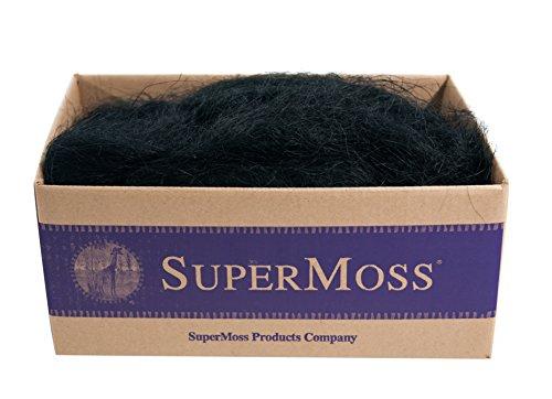 Super Moss (29931) Sisal, Black, 3-4lbs ()