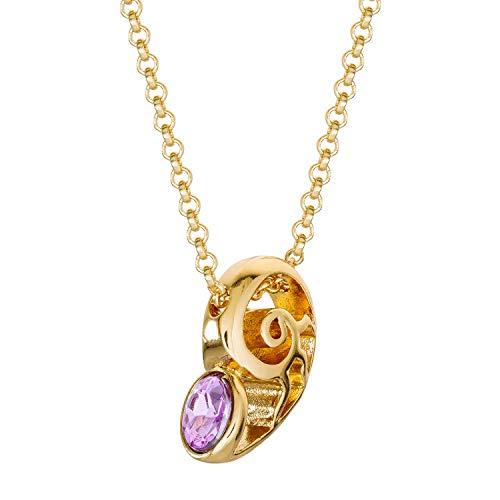 (Disney Villains Ursula Seashell Fashion Necklace, 16