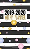 2019-2020 Weekly Planner: Two Year Monthly Organizer Pocket Size Notebook
