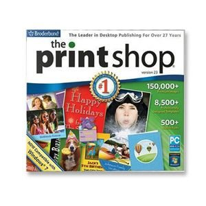 New Broderbund Printshop 23 Incredible Design Projects Made Easy Print & Share Your Projects by Broderbund