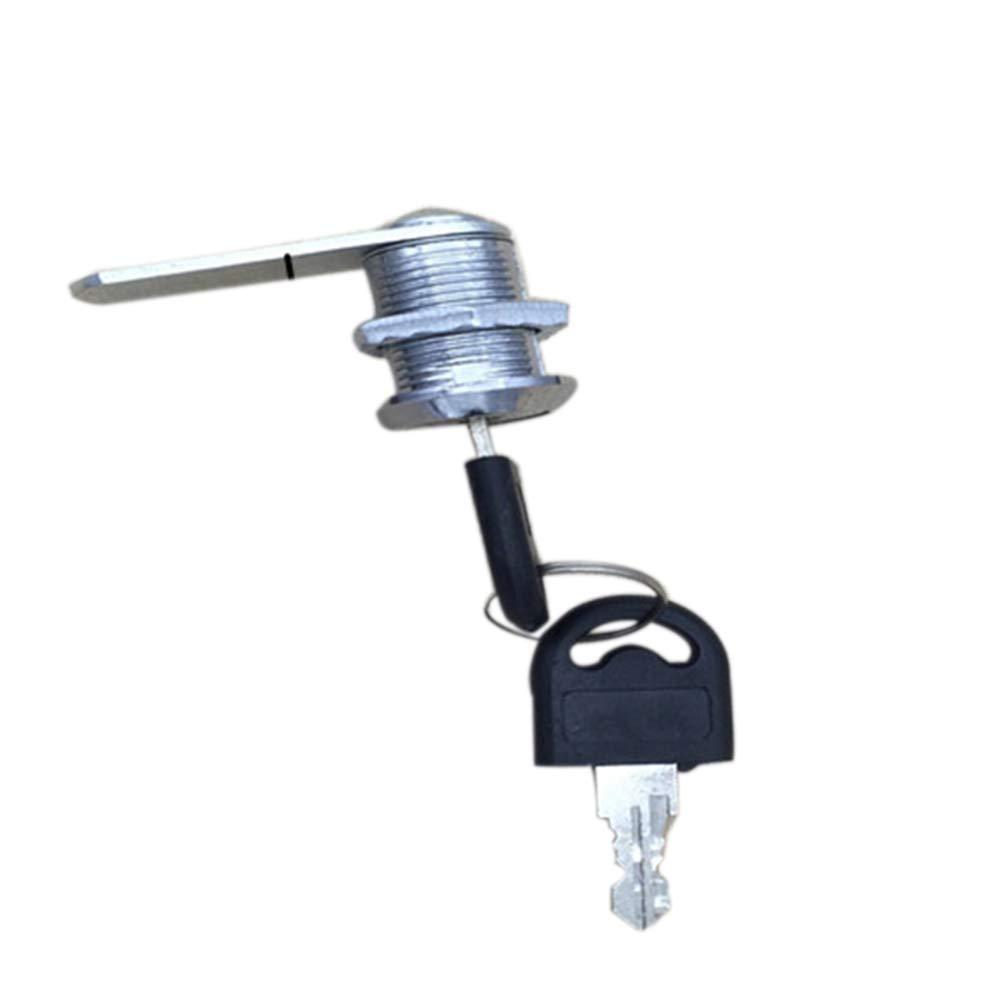 Godagoda Blade Rotary Tongue Lock, Circular Rotary Tongue Lock, Drawer Lock 1pcs