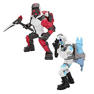 Fortnite Battle Royale Collection - Frostbite & Double Helix - 2 Pack of Action Figures, Multicolor