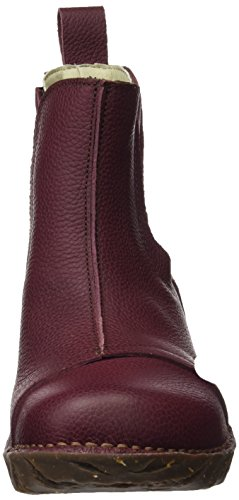 El Naturalista N158 Soft Grain Yggdrasil, Stivali Chelsea Donna Rosso (Rioja)