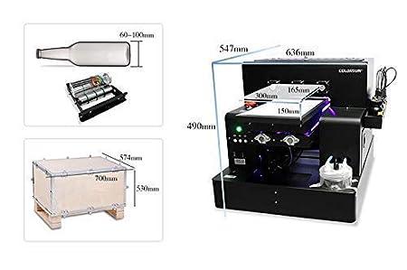 Impresora LED de Cama Plana UV Totalmente automática Syoon ...