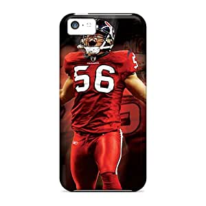 Anti-Scratch Cell-phone Hard Covers For Iphone 5c With Custom Realistic Tampa Bay Buccaneers Series LauraAdamicska