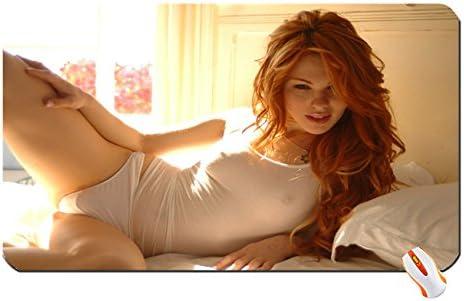 Redhead In Bra And Panties