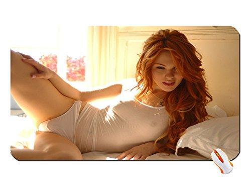 In pantie redhead