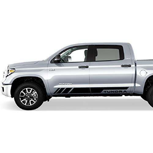 Great 20 2019 Trd Style Satin Black Wheels Fits Toyota: Compare Price To Toyota Tundra Bed Stickers