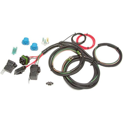 Painless 30816 Headlight Relay Conversion Harness (Late Style/9004 & 9007 Bulb)