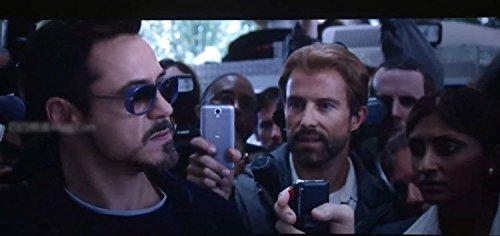 Izusa (TM) Iron Man 3Matsuda Tony Steampunk Sonnenbrille Herren verspiegelt Marke Designer Brille Vintage Sports Sun Glasses, schwarzblau