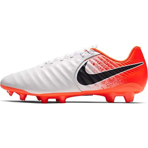 - Nike Men's Legend 7 Academy Soccer Cleat White/Black/Hyper Crimson Size 10.5 M US