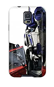 diy phone caseCute Tpu DeniseMA Optimus Prime Movie Transformers People Movie Case Cover For Galaxy S5diy phone case