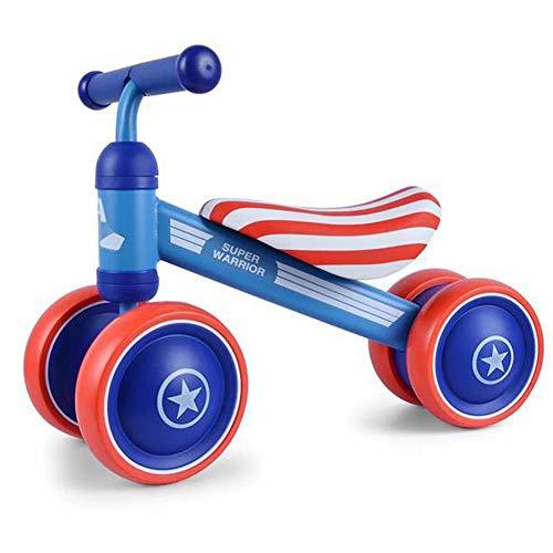 Kid1st Captain America Yellow Duck Balance Bike Ride on Toys for Kids Toddler Walker Trike No-Pedal Bicycles for 10-24 Months Kids Training Bike Strike Cameleon Stroller Bee5 Vista Donkey Hotmom Trend