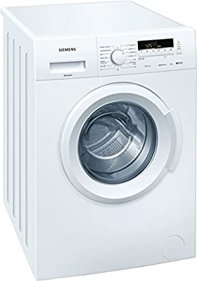 Siemens iQ100 Independiente Carga frontal 6kg 1400RPM A+++ Blanco - Lavadora (Independiente, Carga frontal, Blanco, Izquierda, LED, Amarillo)
