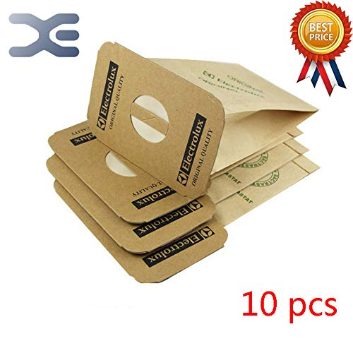 HBK 10Pcs Adapter LUX Vacuum Cleaner Accessories Paper Bag Vacuum Bag Garbage Bag Z317 / Z320 / L928