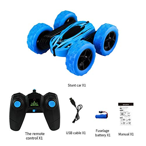 Kids 360° Rotate Stunt Car Model RC 4WD High Speed Remote Control Off-Road Toy