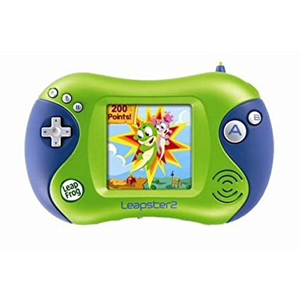 amazon com leapfrog leapster 2 learning game system green toys rh amazon com Amazon Leapster 2 Leapster 2 Logo