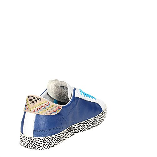 D.a.t.e. Hill LOW-15E Niedrige Sneakers Damen Hellblau