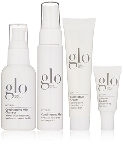 Glo Skin Beauty Oily Skin Set - 4 Piece Travel-Size Skin Care Kit for Oily Skin