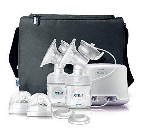 (Philips AVENT Double Electric Comfort Breast Pump)