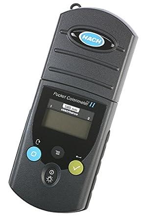 Amazon.com: Hach 5870058 Pocket Colorimeter II, Wavelength