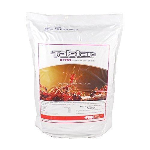 Talstar Xtra Yard Granules 25 Lbs Kill Fire Ants Scorpions Crickets Fleas Ticks Not for Sale to - CA, NY, CT by Talstar
