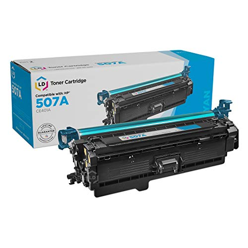 LD Remanufactured Toner Cartridge Replacement for HP 507A CE401A (Cyan) -