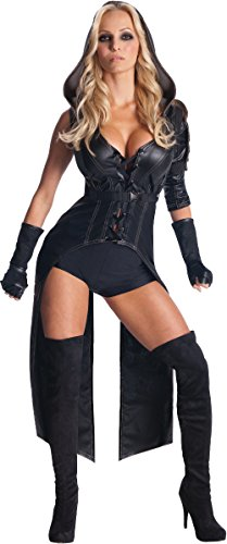 Secret Wishes Womens Sucker Punch Sweet Pea Costume, Black, Small -