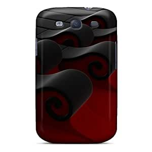 linJUN FENGCynthaskey Perfect Tpu Case For Galaxy S3/ Anti-scratch Protector Case (3d Waves)