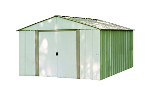 Arrow oakbrook ob storage shed 10 by 14 feet home garden for Garden shed qatar