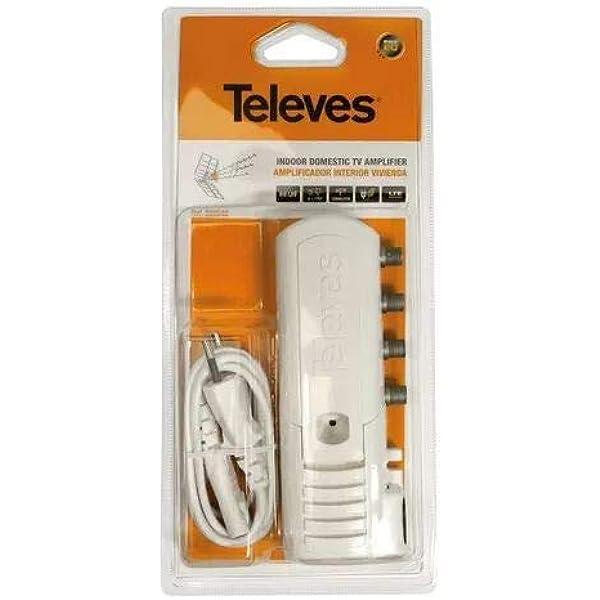Televes 552240 Amplificador con Filtro para LTE 2 SALID + TV ...