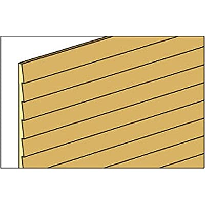 Dollhouse Miniature 3/16 Inch Clapboard Siding by Northeastern Scale Lumber Co: Toys & Games