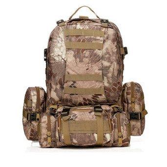 y 50L bolso Deportes capacidad viaje de mang es Amazon bolsas nailon Color moutaining de mochila bolsa mud Militar pattern gran mochilas 12 liningnew tdq1xBt