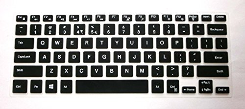 US layout Keyboard Protector Skin Cover for Dell XPS 15-9550, Inspiron 15-7568, 14-3452, i7568, i3452 (