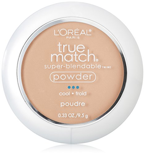 Pearl Shell Finish (L'Oréal Paris True Match Super-Blendable Powder, Shell Beige, 0.33 oz.)