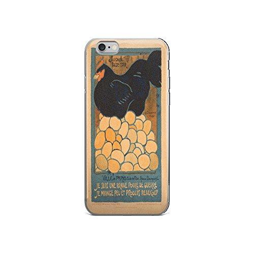 Vintage poster - I am a Fine War Hen - iPhone 6/6s Case