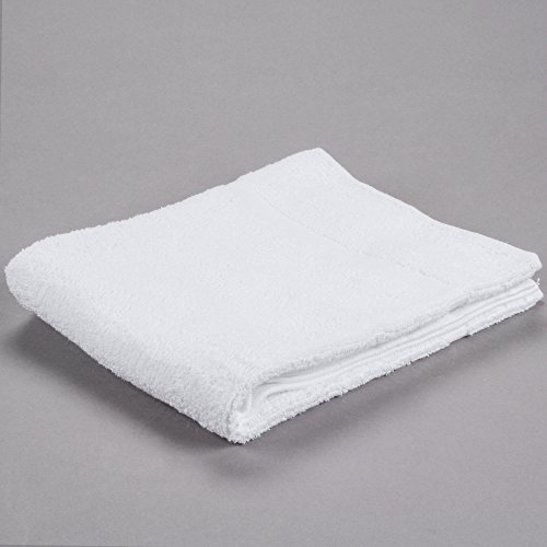 TableTop King 22'' x 34'' 100% Ring Spun Cotton Hotel Bath Mat 7 lb. - 12/Pack by TableTop King (Image #3)