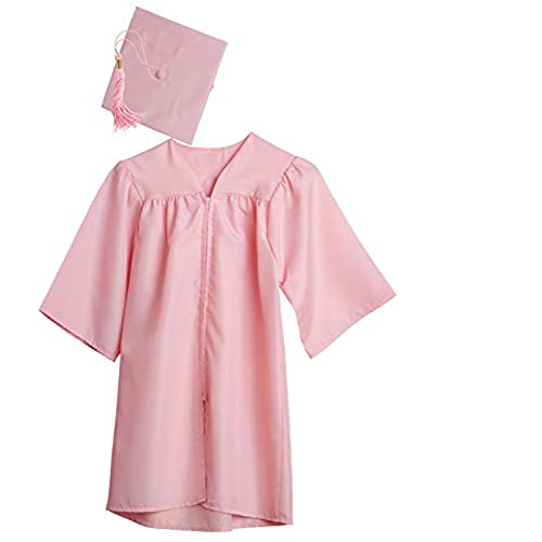 Pink Graduation Cap and Gown: Amazon.com