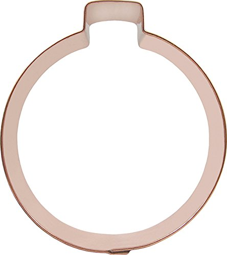 CopperGifts: Ornament Cookie Cutter (Ball) Ball Christmas Cookies