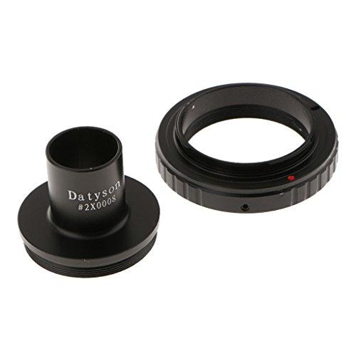 Baoblaze 0.91 inches Microscope Adapter with T T2 Mount Ring for Olympus Panasonic M4/3 Cameras EP1, EP2, EPL1 DMC-G1, DMC-GH1, DMC-GF1 by Baoblaze