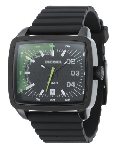 - Diesel Analog X-Ray Rubber Strap Black Dial Men's watch #DZ1325