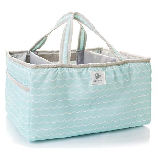Diaper Caddy - Great as Portable Baby Storage, Changing Table Organizer