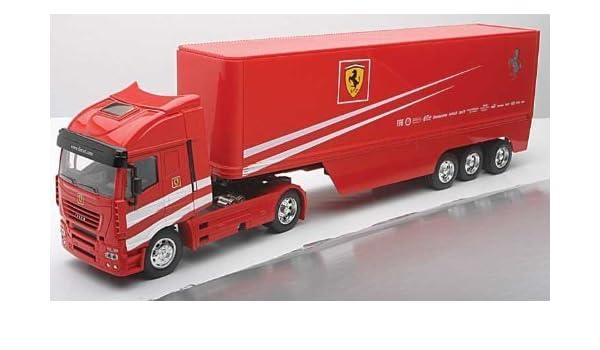 Team Ray Trucks >> Amazon Com Newray New Ray Scuderia Ferrari Racing Team