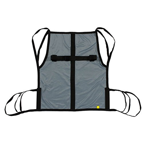 - One Piece Patient Lift Sling with Positioning Strap, Size Medium, 600lb Weight Capacity