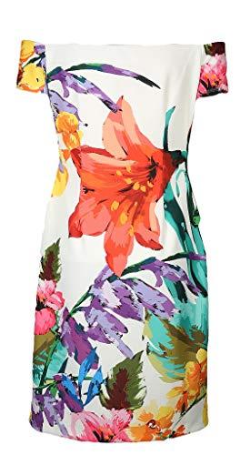 Damen Damen Kleid FRANK LYMAN LYMAN Weiß FRANK FRANK LYMAN Damen Kleid Weiß wqt1BpzRt
