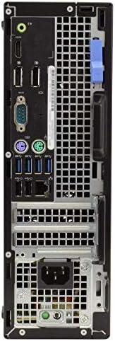 "Dell 7040 Desktop Computer PC, i5-6500, 16GB RAM, 512GB SSD, Windows 10 Pro, New 23.6"" Monitor, New 1080p Periphio Webcam, New Periphio Wireless Keyboard & Mouse, New 16GB Flash Drive, WiFi (Renewed)"